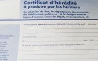 Certificat heredite