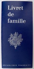 Livret de famille francais